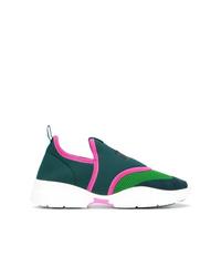 dunkeltürkise Slip-On Sneakers von Isabel Marant