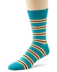dunkeltürkise Socken