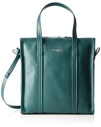 dunkeltürkise Taschen von Balenciaga