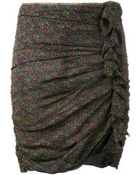 dunkeltürkiser Minirock von Etoile Isabel Marant