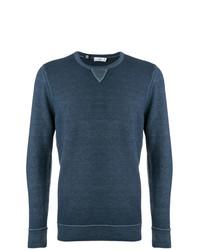 dunkeltürkiser Pullover mit einem Rundhalsausschnitt von Closed