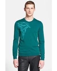 dunkeltürkiser Pullover