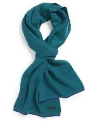 dunkeltürkiser Schal
