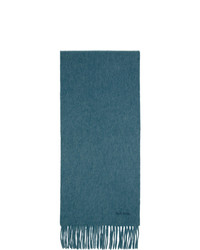 dunkeltürkiser Schal von Paul Smith