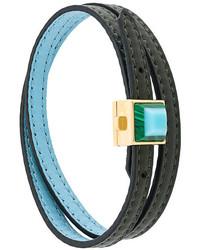 dunkeltürkises Armband von Fendi