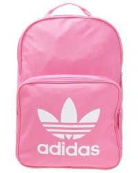 fuchsia bedruckter Rucksack von adidas