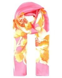fuchsia bedruckter Schal von Ralph Lauren