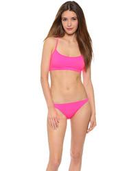 fuchsia Bikinioberteil von Milly