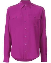 fuchsia Businesshemd von Ralph Lauren