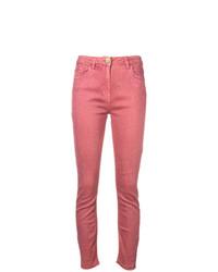 fuchsia enge Jeans von Elisabetta Franchi