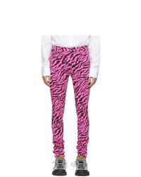fuchsia enge Jeans von Gucci