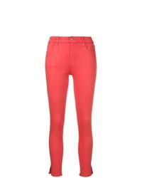 fuchsia enge Jeans von J Brand