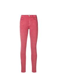 fuchsia enge Jeans von Jacob Cohen
