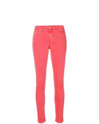 fuchsia enge Jeans von MICHAEL Michael Kors