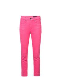 fuchsia enge Jeans von Rag & Bone