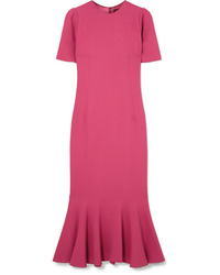 fuchsia Etuikleid von Dolce & Gabbana