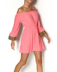 fuchsia Folklore Kleid