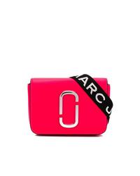 fuchsia Leder Bauchtasche von Marc Jacobs