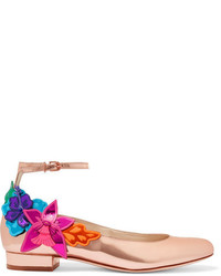 Fuchsia Leder Pumps von Sophia Webster