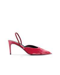 fuchsia Leder Pumps von Stella McCartney