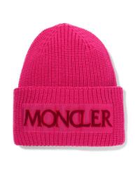 fuchsia Mütze von Moncler