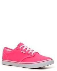 fuchsia niedrige Sneakers