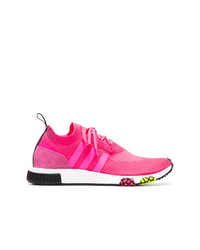 fuchsia niedrige Sneakers von adidas