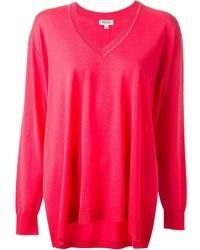 fuchsia Oversize Pullover