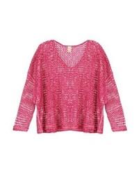 fuchsia Oversize Pullover von Free People