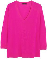 fuchsia Oversize Pullover von J.Crew
