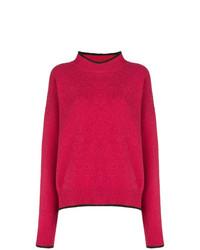 fuchsia Oversize Pullover von Marni