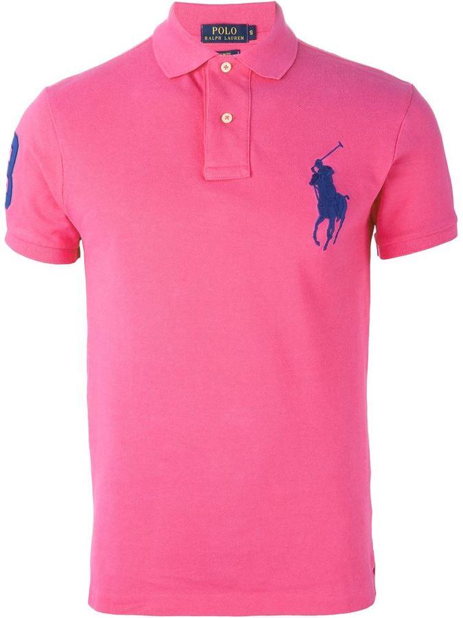 buy online 698ba 0306c fuchsia Polohemd von Polo Ralph Lauren