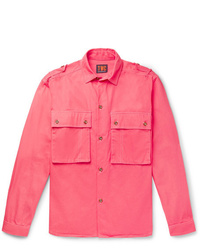 fuchsia Shirtjacke von The Workers Club