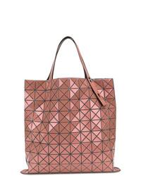 fuchsia Shopper Tasche aus Leder von Bao Bao Issey Miyake