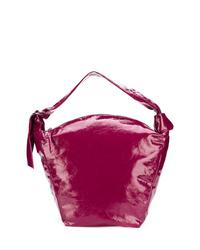 fuchsia Shopper Tasche aus Leder von Isabel Marant