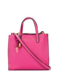 fuchsia Shopper Tasche aus Leder von Marc Jacobs