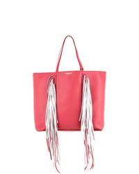 fuchsia Shopper Tasche aus Leder von Sara Battaglia