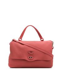 fuchsia Shopper Tasche aus Leder von Zanellato