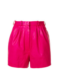 fuchsia Shorts von Lanvin