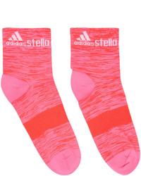 fuchsia Socken von adidas by Stella McCartney