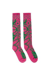 fuchsia Socken von Charles Jeffrey Loverboy