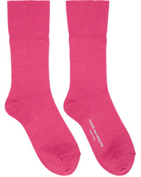 fuchsia Socken von Comme des Garcons
