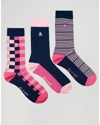 fuchsia Socken von Original Penguin