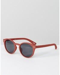 fuchsia Sonnenbrille von Asos