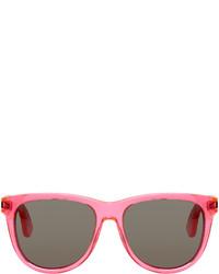 fuchsia Sonnenbrille von Saint Laurent
