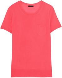fuchsia T-shirt von J.Crew
