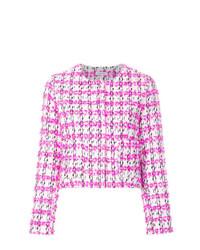 fuchsia Tweed-Jacke von P.A.R.O.S.H.