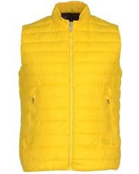 Gelbe ärmellose Jacke für Herren kombinieren (17