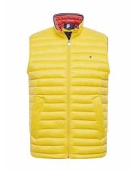gelbe ärmellose Jacke von Tommy Hilfiger