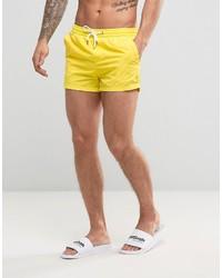 gelbe Badeshorts von Pull&Bear